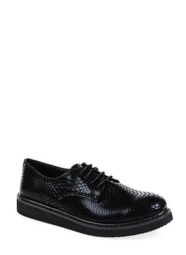 Derigo Bağcıklı Klasik Ayakkabı Siyah